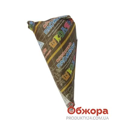Мороженое Максхолод Рожок Школярам супершокол.с шокол шариками 110 г – ИМ «Обжора»