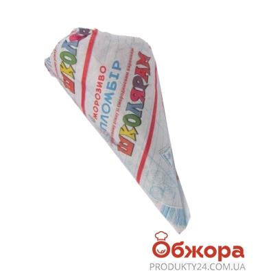 Мороженое Максхолод Рожок Школярам пломбир со смород. 110 г – ИМ «Обжора»