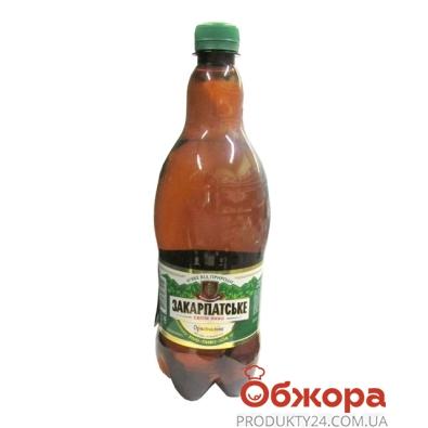 Пиво Перша Приватна Броварня (ППБ) Закарпатское 1 л – ИМ «Обжора»
