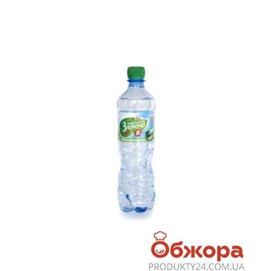 Вода 3 ключа б/газа 0,5 л – ИМ «Обжора»