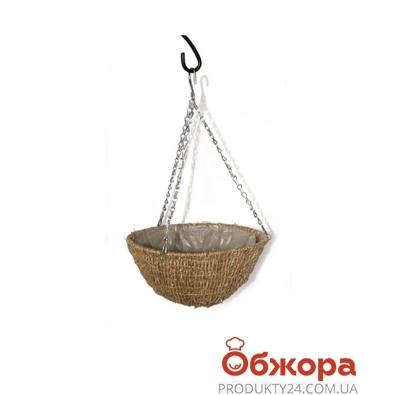 Кашпо плетенное сфера D30см 21-2003 – ИМ «Обжора»