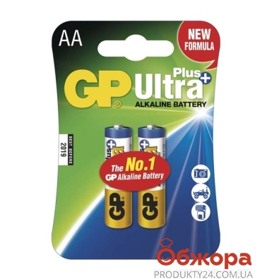 Батарейки GP Ultra + Alcaline 1.5v LR6,AA – ИМ «Обжора»