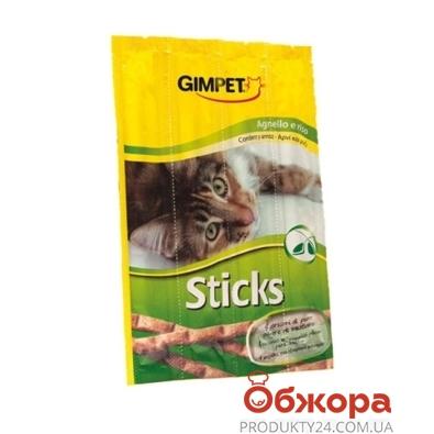 Корм для кошек Гимпет (Gimpet) мясные палочки ягненок+рис 4шт G-400099 – ИМ «Обжора»