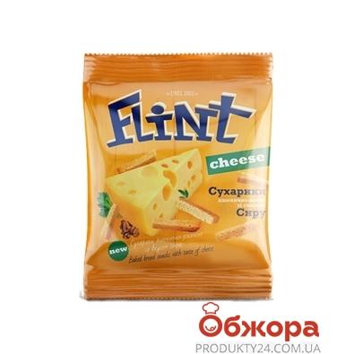 Сухарики Флинт (Flint) Сыр 35 г – ИМ «Обжора»