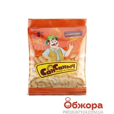 Семечки тыквенные СанСаныч 40г соленые – ИМ «Обжора»