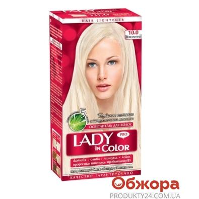 Краска Lady in color д/волос N10.0 Осветлитель – ИМ «Обжора»