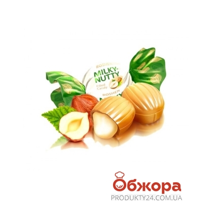 Конфеты Рошен (Roshen) Milky-nutty молоко орех вес – ИМ «Обжора»