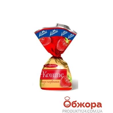 Конфеты Конти (Konti) деконте клубника – ИМ «Обжора»