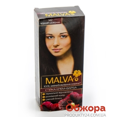 Краска MALVA hiar color черн.шок – ИМ «Обжора»