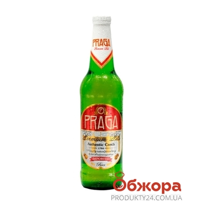 Пиво Прага (Praga) светлое 0,33 л – ИМ «Обжора»