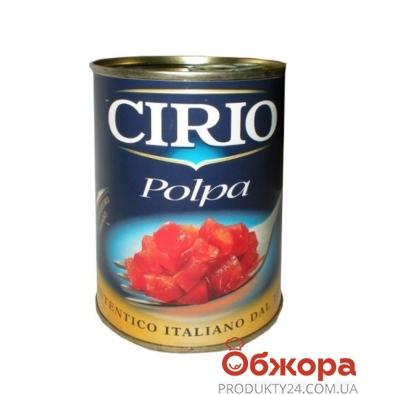 Томаты Сирио (Cirio) Polpa целые очищенные 400г – ИМ «Обжора»