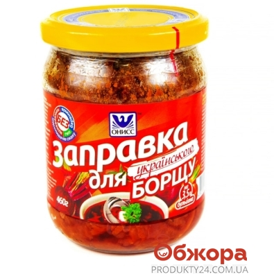 Борщ Онисс Украинский с курицей 525 г – ИМ «Обжора»