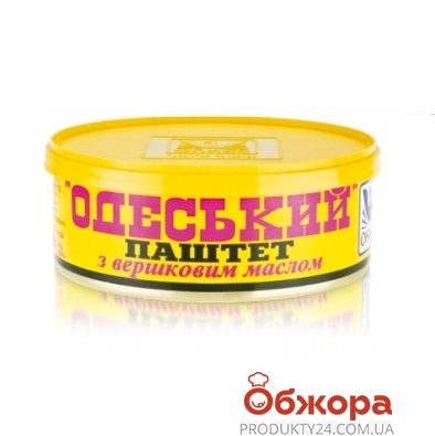 Паштет Одесский со сливочным маслом Онисс 240 г – ИМ «Обжора»