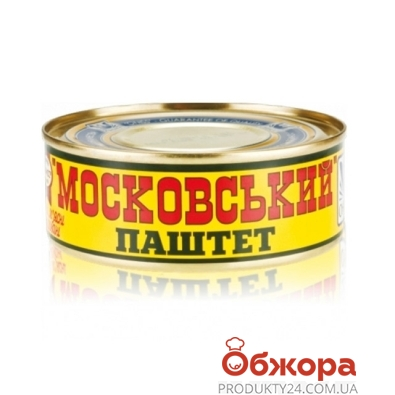 Паштет Онисс Московский 240 г – ИМ «Обжора»
