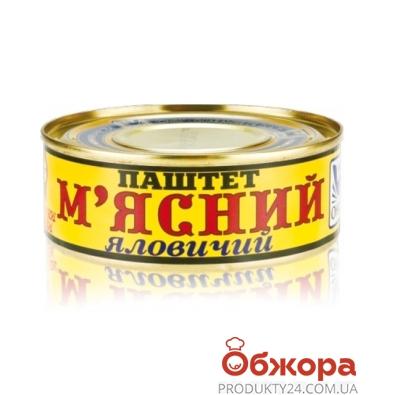 Паштет Онисс Мясной 240 г – ИМ «Обжора»