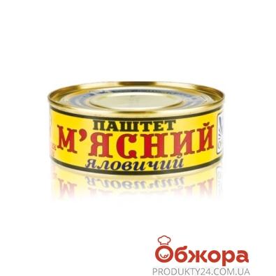 Паштет Онисс Мясной 100 г – ИМ «Обжора»