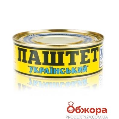 Конс, Онісс 100г паштет Український ж/б – ІМ «Обжора»