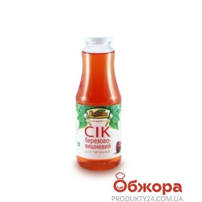 Сок Глибкон Берёзово-вишнёвый Диетический 1л – ИМ «Обжора»