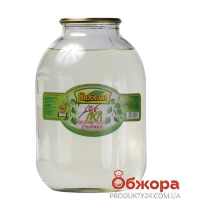 Сок Берёзовый с сахаром 3л – ИМ «Обжора»
