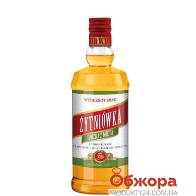 Настойка Житневка (Zytniowka) горькая с мятой 0,5 л – ИМ «Обжора»