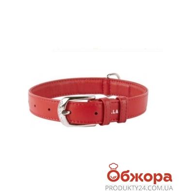Ошейник Коллар (Collar)  GLAMOUR без украшений (ширина 20мм, длина 30-39см)красный 32933 – ИМ «Обжора»