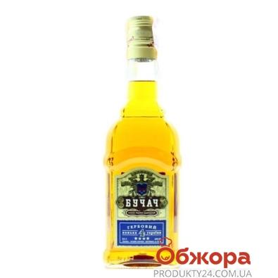 Коньяк Бучач Гербовый 4* 0,5 л – ИМ «Обжора»