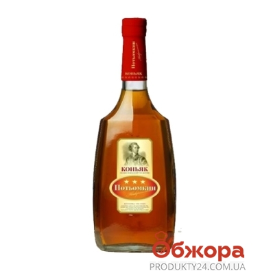 Коньяк Потемкин таврийский 3* 0,5л – ИМ «Обжора»