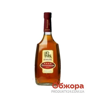 Коньяк Потемкин таврийский 4* 0,5л – ИМ «Обжора»