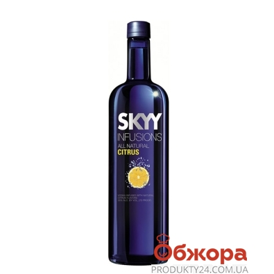 Водка Скай (SKYY) лимонная 0,7 л – ИМ «Обжора»
