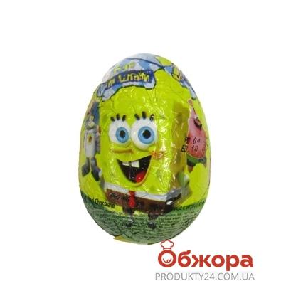 Шоколадное яйцо Спанч боб – ИМ «Обжора»