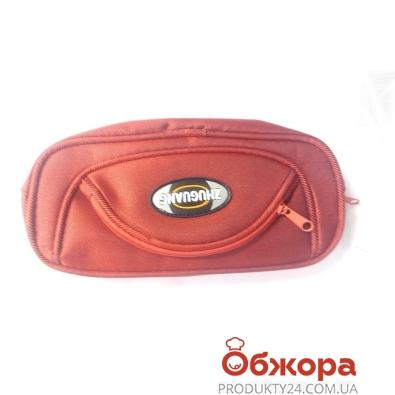Пенал сумочка на молнии, 3 кармана       3503 – ИМ «Обжора»