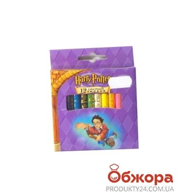 Карандаши цветные 12 Гарри Поттер (Harry Potter) , короткие      2129-12 – ИМ «Обжора»