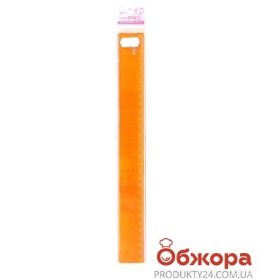 Линейка пласассовая, 30см цветная     2112 – ИМ «Обжора»