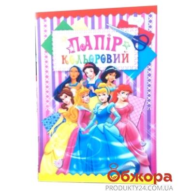 Набор цветной бумаги, 7-мь цветов, 14л.     ОВ14 – ИМ «Обжора»