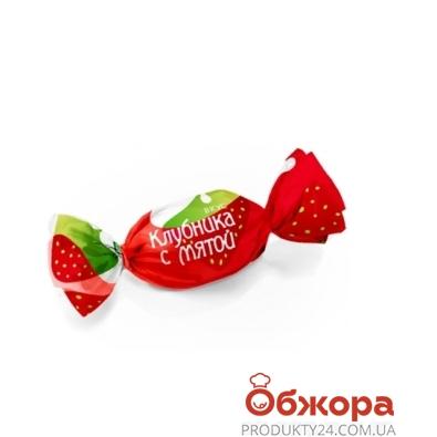 Конфеты Конти (Konti) клубника мята – ИМ «Обжора»