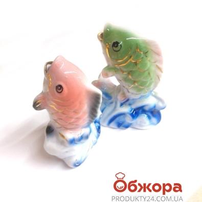 Фигурка Рыбы , 9 см, фарфор   15, ФР*15 – ИМ «Обжора»