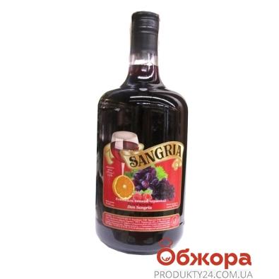 Коктейль винный Сангрия (Sangria) Десерт красный 1,75 л – ИМ «Обжора»