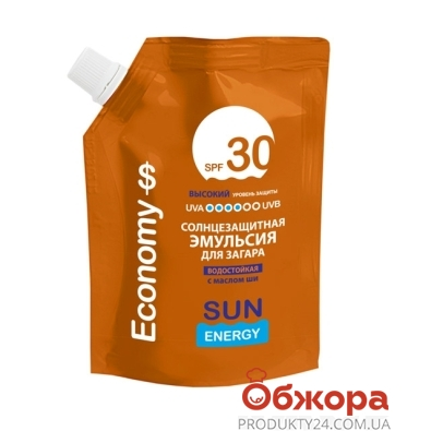 Эмульсия для загара SE Economy SPF 30 200 мл – ИМ «Обжора»