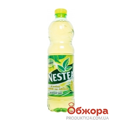 Холодный Чай Нести (Nestea) Зеленый  Лимон-Лайм  1,5 л – ИМ «Обжора»
