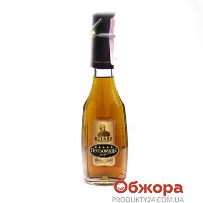 Коньяк Потемкин таврийский 5* 0,2л – ИМ «Обжора»