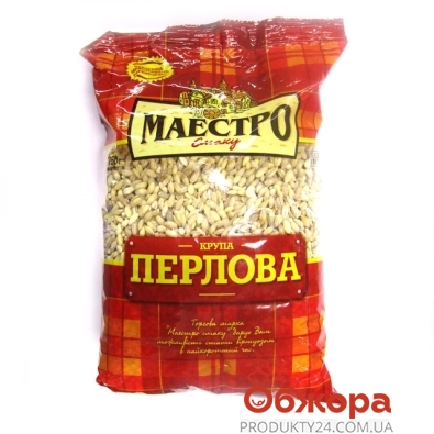 Крупа перловая Маэстро Вкуса 750 г – ИМ «Обжора»