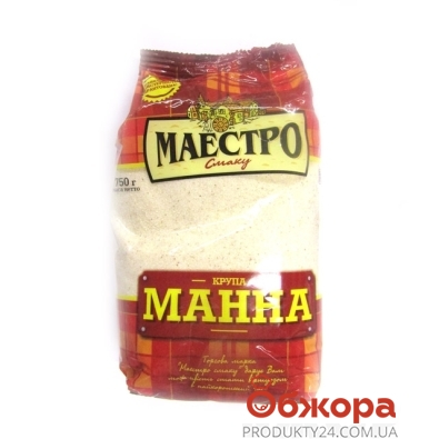 Манка Маэстро Вкуса 750 г – ИМ «Обжора»