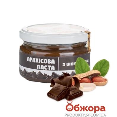 Паста арахисовая Мастер Боб с шоколадом  200 г – ИМ «Обжора»