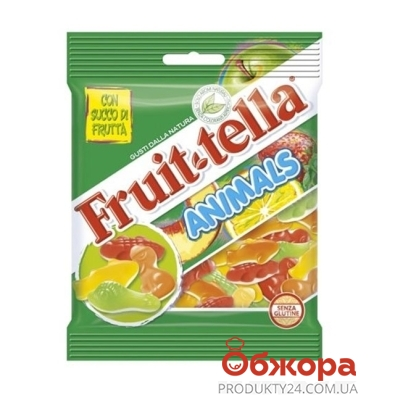 Жевательный мармелад Фрутелла (Fruittella) animals 90г – ИМ «Обжора»
