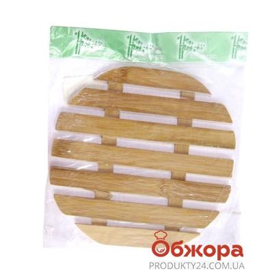 Подставка бамбуковая квадрат.259 – ИМ «Обжора»