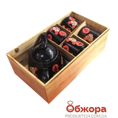 Набор Благополучиекерамика  4 чашки,чайник 2277 – ИМ «Обжора»