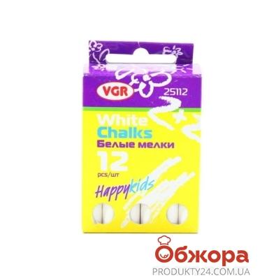 Комплект мелков белых 12 шт К*25112 – ИМ «Обжора»
