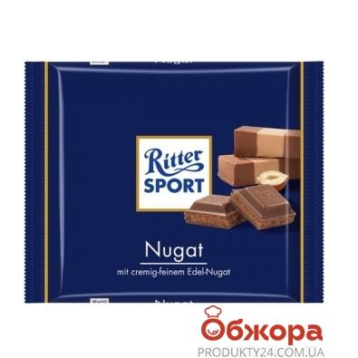 Шоколад Риттер нуга 100 г – ИМ «Обжора»