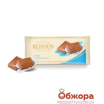 Шоколад Рошен молочный 90 г – ИМ «Обжора»