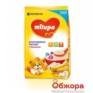 Каша Милупа (Мilupa) молочная кукурузн. рисовая с бананом 210 г – ИМ «Обжора»